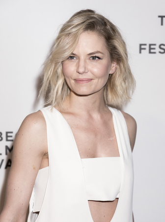 morrison: NEW YORK, NY , USA - APRIL 26: Actress Jennifer Morrison wearing dress by Opening Ceremony attends Tribeca Gala: The Circle Premiere during the 2017 Tribeca Film Festival at BMCC Tribeca PAC, Manhattan