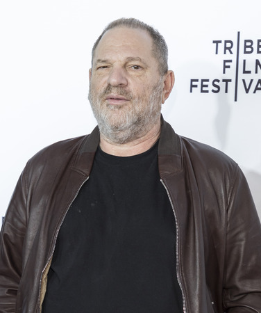 New York, NY, USA - April 26, 2017: Harvey Weinstein attends 25th Anniversary Retrospective Screening of Reservoir Dogs at The 2017 Tribeca Film Festival at Beacon Theatre, Manhattan Фото со стока - 77122485