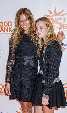 New York, NY, USA - April 17, 2018: Kelly Killoren Bensimon, Thadeus Ann Bensimon attend the Food Bank for New York Citys Can Do Awards Dinner at Cipriani Wall Street, Manhattan