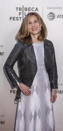 New York, NY, USA - April 20, 2018: Rachel Shane attends screening of 'Genius: Picasso' during the 2018 Tribeca Film Festival at BMCC Tribeca PAC, Manhattan Editorial