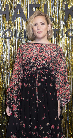 New York, NY, USA - February 13, 2019: Kate Hudson attends the Michael Kors Collection Fall 2019 Runway Show during New York Fashion Week at Cipriani Wall Street, Manhattan Sajtókép