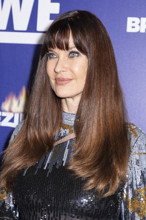 New York, NY, USA - March 13, 2019: Carol Alt attends WEtvs premiere fashion event celebrating the return of Bridezillas at Angel Orensanz Foundation, Manhattan