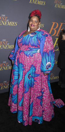 New York, NY, USA - April 4, 2019: Ann-Nakia Green attends The Best Of Enemies New York Premiere at AMC Loews Lincoln Square, Manhattan