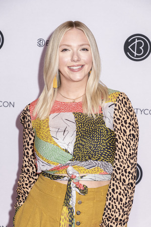 New York, NY, USA - April 6, 2019: Allison Ellis attends Beautycon Festival NYC 2019 at Jacob K. Javits Convention Center, Manhattan Фото со стока - 120753816