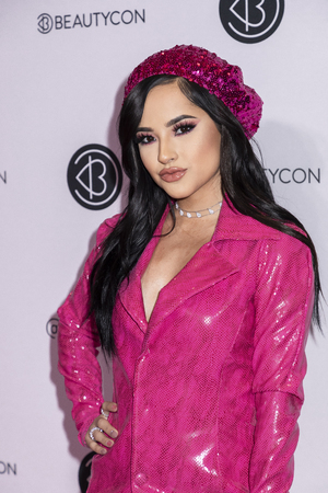 New York, NY, USA - April 6, 2019: Becky G attends Beautycon Festival NYC 2019 at Jacob K. Javits Convention Center, Manhattan