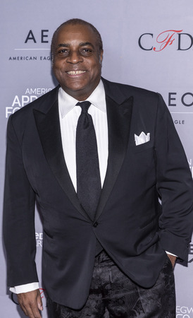 New York, NY, USA - April 15, 2019: Jeffrey Banks attends AAFA American Image Awards 2019 at The Plaza, Manhattan Redakční