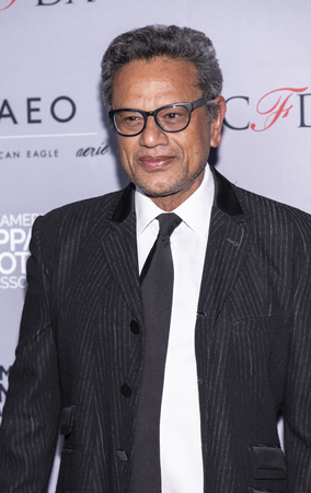 New York, NY, USA - April 15, 2019: Naeem Khan attends AAFA American Image Awards 2019 at The Plaza, Manhattan Redakční