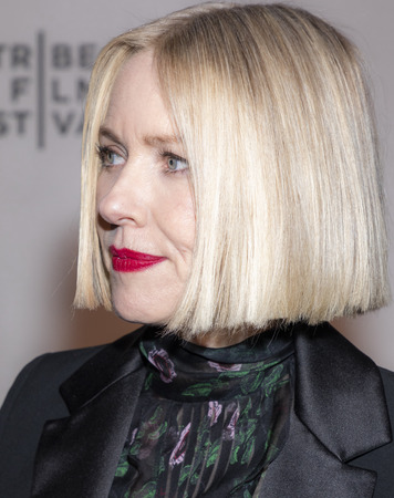 "New York, NY, USA - April 28, 2019: Naomi Watts attends ""Luce"" premiere during 2019 Tribeca Film Festival at The Stella Artois Theatre, Manhattan"
