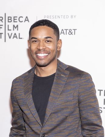 New York, NY, USA - April 28, 2019: Kevin Harrison Jr. attends Luce premiere during 2019 Tribeca Film Festival at The Stella Artois Theatre, Manhattan