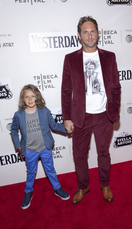 New York, NY, USA - May 4, 2019: Noah Rev Maurer and Josh Lucas attend