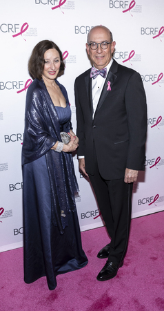 New York, NY, USA - May 15, 2019: Dr. Judy Garber attends the Breast Cancer Research Foundation 2019 Hot Pink Party at Park Avenue Armory, Manhattan