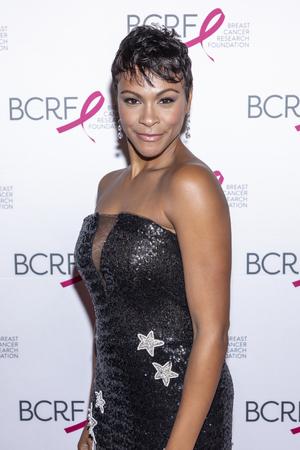 ニューヨーク、ニューヨーク、アメリカ - 2019年5月15日:カーリー・ヒューズがマンハッタンのパークアベニューアーモリーで乳がん研究財団2019ホッ 報道画像