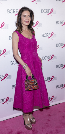 New York, NY, USA - May 15, 2019: Lois Robbins attends the Breast Cancer Research Foundation 2019 Hot Pink Party at Park Avenue Armory, Manhattan