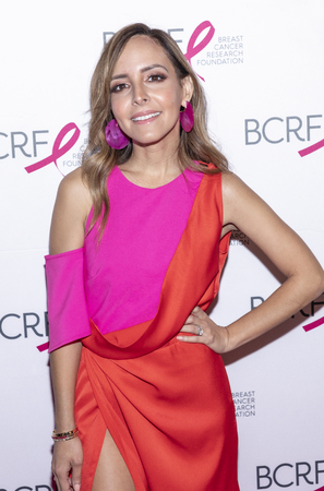 New York, NY, USA - May 15, 2019: Lilliana Vazquez attends the Breast Cancer Research Foundation 2019 Hot Pink Party at Park Avenue Armory, Manhattan