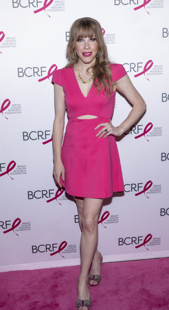New York, NY, USA - May 15, 2019: Emma Myles attends the Breast Cancer Research Foundation 2019 Hot Pink Party at Park Avenue Armory, Manhattan