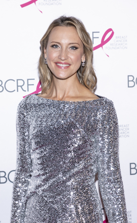 New York, NY, USA - May 15, 2019:  Kinga Lampert attends the Breast Cancer Research Foundation 2019 Hot Pink Party at Park Avenue Armory, Manhattan