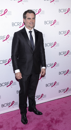 New York, NY, USA - May 15, 2019: Jeff Gordon  attends the Breast Cancer Research Foundation 2019 Hot Pink Party at Park Avenue Armory, Manhattan Sajtókép