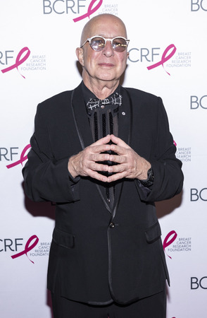 New York, NY, USA - May 15, 2019: Paul Shaffer attends the Breast Cancer Research Foundation 2019 Hot Pink Party at Park Avenue Armory, Manhattan Sajtókép