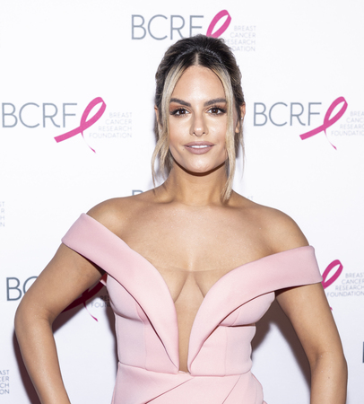 New York, NY, USA - May 15, 2019: Pia Toscano attends the Breast Cancer Research Foundation 2019 Hot Pink Party at Park Avenue Armory, Manhattan