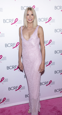 New York, NY, USA - May 15, 2019: Candace Bushnell attends the Breast Cancer Research Foundation 2019 Hot Pink Party at Park Avenue Armory, Manhattan Sajtókép