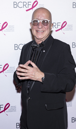 New York, NY, USA - May 15, 2019: Paul Shaffer attends the Breast Cancer Research Foundation 2019 Hot Pink Party at Park Avenue Armory, Manhattan Editorial