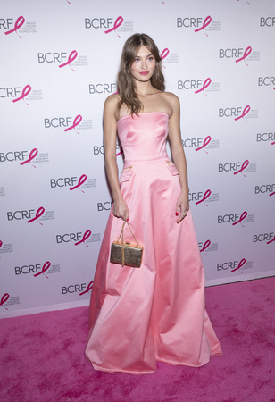 New York, NY, USA - May 15, 2019: Grace Elizabeth attends the Breast Cancer Research Foundation 2019 Hot Pink Party at Park Avenue Armory, Manhattan Editorial