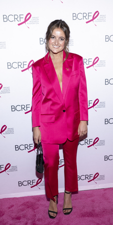 New York, NY, USA - May 15, 2019: Eliana Lauder attends the Breast Cancer Research Foundation 2019 Hot Pink Party at Park Avenue Armory, Manhattan