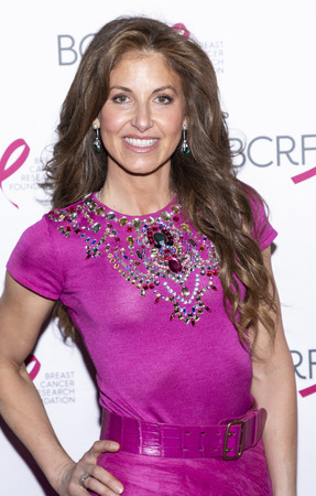 New York, NY, USA - May 15, 2019: Dylan Lauren attends the Breast Cancer Research Foundation 2019 Hot Pink Party at Park Avenue Armory, Manhattan Sajtókép