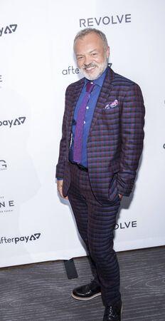 New York, NY, USA - September 5, 2019: Graham Norton attends The Daily Front Row 7th Fashion Media Awards at The Rainbow Room at Rockefeller Center