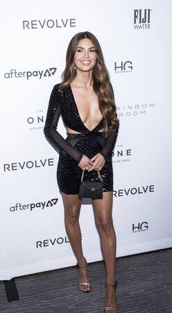 New York, NY, USA - September 5, 2019: Negin Mirsalehi attends The Daily Front Row 7th Fashion Media Awards at The Rainbow Room at Rockefeller Center