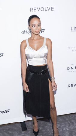 New York, NY, USA - September 5, 2019: Draya Michele attends The Daily Front Row 7th Fashion Media Awards at The Rainbow Room at Rockefeller Center