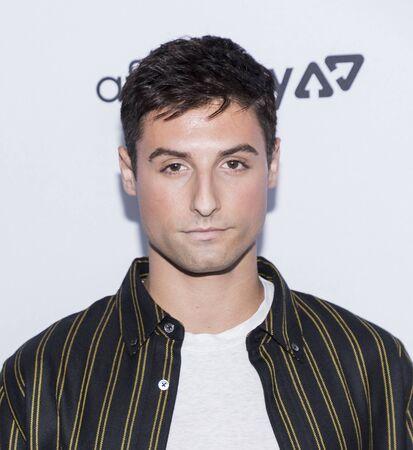New York, NY, USA - September 5, 2019: Jimmy Pezzino attends The Daily Front Row 7th Fashion Media Awards at The Rainbow Room at Rockefeller Center