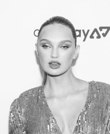 New York, NY, USA - September 5, 2019: Romee Strijd attends The Daily Front Row 7th Fashion Media Awards at The Rainbow Room at Rockefeller Center Редакционное