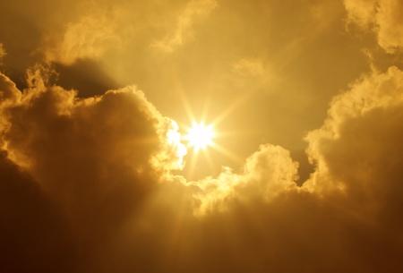 Sky Sun Clouds photo