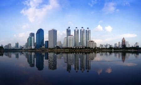 modern city Stock Photo - 11036140