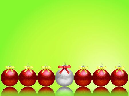 Christmas balls for the background. photo