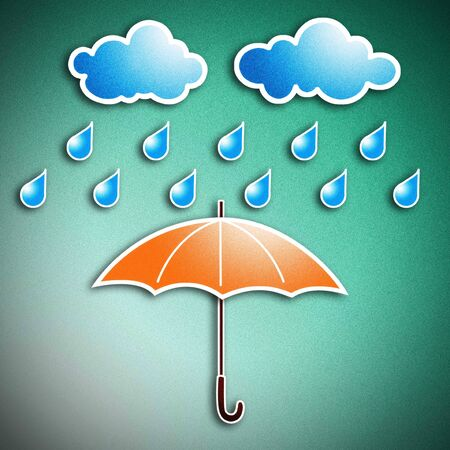 rainy season: The rainy season, it is necessary that you should have the same umbrella.