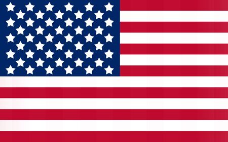free vote: Flag of the United States in the landscape.