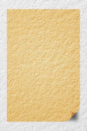 communication �crite: Livre blanc sur le mur pour la communication �crite au travail. Banque d'images