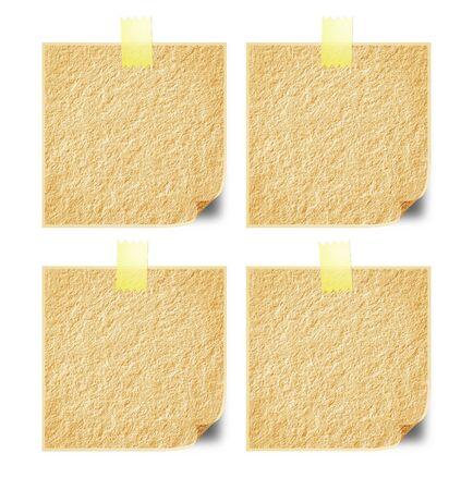 communication �crite: Papier sur le mur pour la communication �crite dans le lieu de travail. Banque d'images