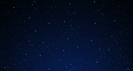 A starry night sky. photo