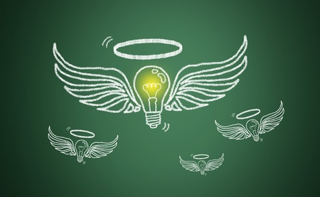 positive thinking: The lamp is lit, the talent and ingenuity of business competition.