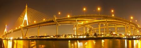 phraya: Bhumibol Bridge, Bangkok, Thailand