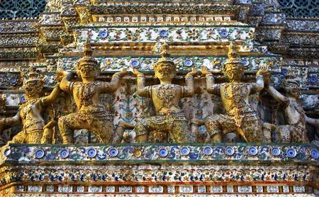 Giant Buddha in Grand Palace, Bangkok, Thailand Stock Photo - 12269786