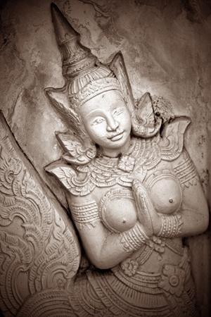 budha: Wat PraGaew, The Royal Grand Palace - Bangkok, Thailand Stock Photo