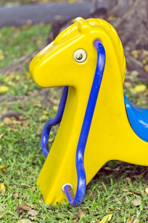 horse pipes: Toys, children Stock Photo
