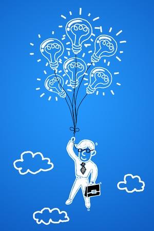 progressive: Business professionals with a business idea into success.