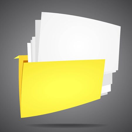 Documents folder to store the data  For the background vector  Stock Vector - 14419032