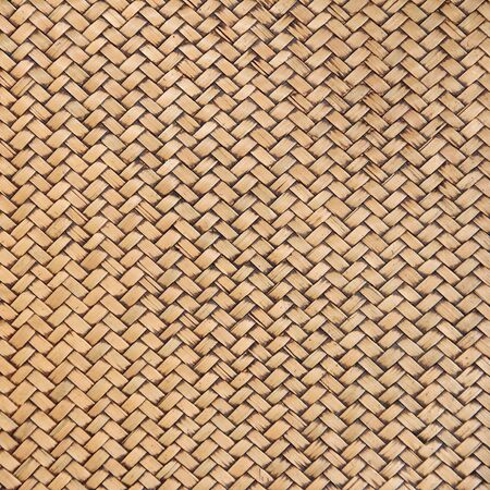 rattan mat: Native Thai style bamboo wall