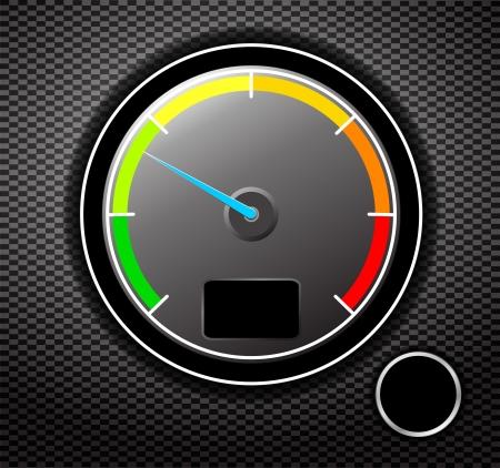 digital thermometer: Contagiri illustrazione
